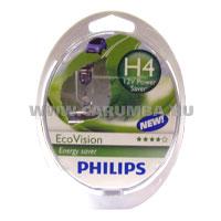 Галогеновые лампы philips ecovision